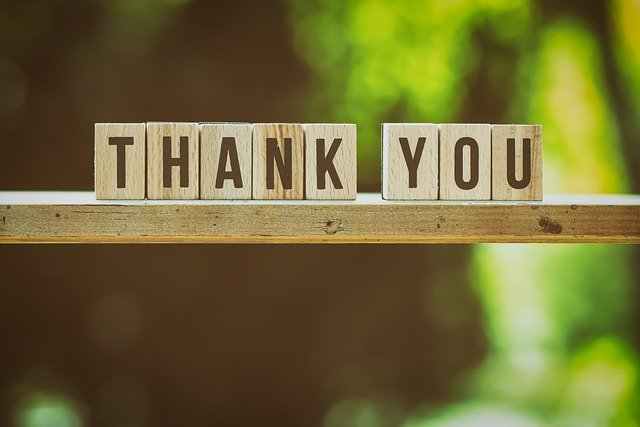 意味 everything you thank for